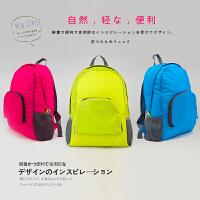 �敉庑蓍e旅游背包可折�B防水�p肩女士背包容易�y��小背包