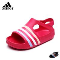 【到手价:189元】阿迪达斯adidas童鞋2017夏季新款男女婴童沙滩鞋凉鞋水鞋 BA7133