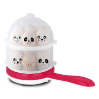 富贵熊双层多功能煮蛋器 PA-620煎蛋器 不粘易清洗 自动断电迷你煎蛋器