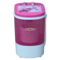 申花XPB38-2008迷你洗衣机可脱水单桶全铜电机洗衣机洗脱两用透明可视洗涤动力足洗脱一体3.8公斤