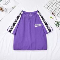 短袖T恤男夏季新款简约纯棉圆领t恤纯色休闲短袖男上衣全棉打底衫
