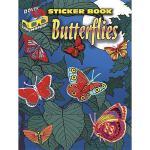 【预订】Butterflies Sticker Book [With 3-D Glasses]