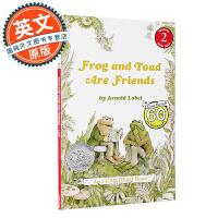 青蛙和蟾蜍是好朋友 英文原版 Frog and Toad Are Friends 进口童书 I Can Read 绘本