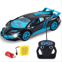 遥控车充电带灯光漂移摇控汽车赛车男孩儿童玩具车模型小孩无线jj