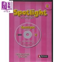 【中商原版】Spotlight K INTERACTIVE CD-ROM英文原版 美国小学英语K级别教学互动光盘