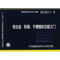 03J611-4铝合金,彩钢,不锈钢夹芯板大门