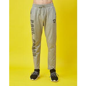 【限时秒杀到手价:89元】paul?frank/大嘴猴春季印花新款休闲长裤舒适男式运动长裤