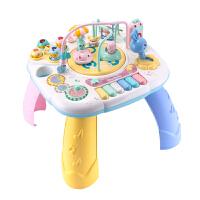 �和�早教游�蜃����多功能益智���W�桌玩具男孩女孩1-3�q6��月