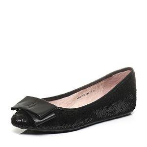 Teenmix/天美意年春季专柜同款珠片布女鞋AM211AQ6