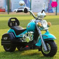 儿童电动摩托可坐人女男孩可充电小孩遥控车代三轮车小宝宝玩具车