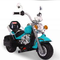 儿童电动摩托车三轮车大号可充电男女宝宝电瓶车小孩玩具车可坐人