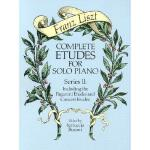 【预订】Complete Etudes for Solo Piano, Series II: Including