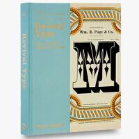 【预订】Revival Type 复兴字体:灵感源于过去的数码字体 字体设计