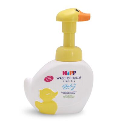 德国 喜宝HIPP 无泪泡沫洗手洗脸液 婴儿专用洁肤洗脸宝宝洗手液