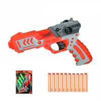 峰佳软弹枪 儿童玩具枪 手动可发射枪 安全吸盘男孩礼物儿童节礼物 标准配置