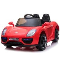 婴儿汽车遥控婴儿童电动车四轮可坐遥控汽车1-3岁4-5摇摆童车可坐人宝宝玩具车 911【红色】自驾+遥控 +12V4.