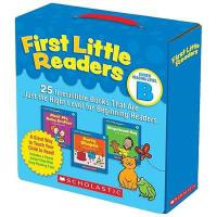 First Little Readers: Guided Reading Level B 英文原版 我的*套小读本,2