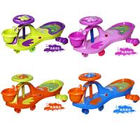 音乐摇摆宝宝滑行车代 儿童扭扭车1-3-6岁男女宝宝万向轮溜溜车带