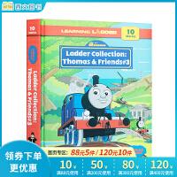 顺丰包邮 英文原版 Thomas and Friends Learning Ladder3 小火车托马斯和朋友们 精装