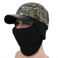 冬季户外登山骑行帽子头套帽鸭舌帽男士帽子迷彩帽 通用