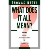 【预订】What Does It All Mean: A Very Short Introduction to