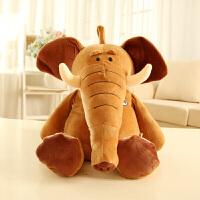 抱抱大象公仔毛绒玩具安抚抱枕婴儿陪睡玩偶宝宝女生日礼物
