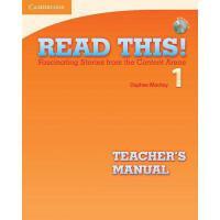 【预订】Read This! Level 1 Teacher's Manual with Audio CD: