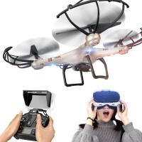 充电动遥控飞机可加载高清实时航拍四轴飞行器无人机