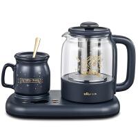 小熊(Bear)0.8L�k公室迷你�B生�仞B生杯煮茶�仉��崴��匦●R��莉�名款YSH-C08V1