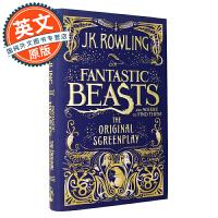 Fantastic Beasts and Where to Find Them 神奇动物在哪里【英文原版 美国版、哈利波特外传、JK罗琳、剧本】
