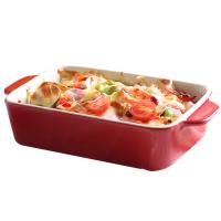 芝士�h饭盘微波炉烤盘陶瓷西餐盘子烤箱专用餐具菜盘家用烤碗