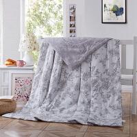 当当优品 全棉印花水洗夏凉被 空调被 午睡被 枫丹白露200*230cm