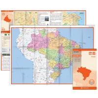世界分国地图・南美洲-巴西地图