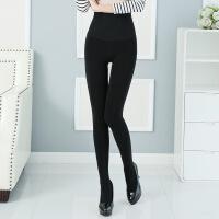 女式外穿秋冬高腰产后收腹裤加绒加厚打底裤肉色一体冬季光腿神器