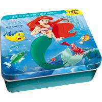 正版全新 小美人鱼・爱丽儿的梦想 迪士尼卡通全明星铁盒拼图书