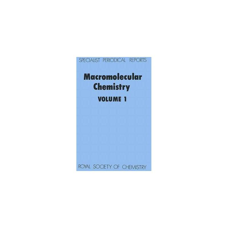 【预订】Macromolecular Chemistry: Volume 1 美国库房发货,通常付款后3-5周到货!