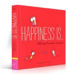英文原版绘本书 Happiness Is . . . 500 Ways 幸福是…表达我爱你的500种方式 治愈系全年龄