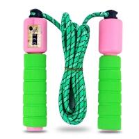 计数计算器跳绳海绵儿童成人户外运动健身减肥小学生比赛专用玩具