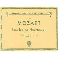 【预订】Mozart: Eine Kleine Nachtmusik: Piano, Four Hands