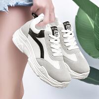 女鞋休闲鞋韩版平底单鞋女运动鞋圆头系带学生 时尚圆头 小白鞋板鞋女