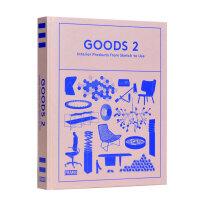 【预订】Goods 2,物件2-室内产品设计的绘图到应用 外文原版产品设计书籍
