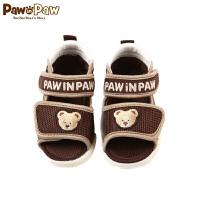 【1件3折 到手价:107】Pawinpaw卡通小熊童装夏款夏季婴幼儿新款男宝宝凉鞋