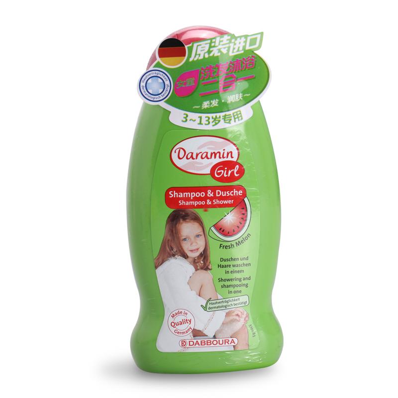 达罗咪女童洗发沐浴二合一女孩洗发水儿童学生沐浴露温和 3-13岁