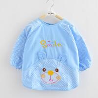 宝宝罩衣长袖 婴儿童吃饭衣围裙护衣小孩围兜