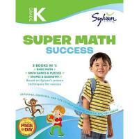 【预订】Kindergarten Super Math Success (Sylvan Super