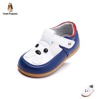 暇步士童鞋2017年新款男童女童真皮凉鞋小童卡通学生鞋 DP9051