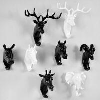 创意墙壁装饰衣帽钩挂钩家居客厅卧室墙面装饰立体动物挂包钩