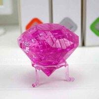 领智3D立体水晶拼图 益智积木 创意礼物 钻石