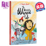 预售【中商原版】绿野仙踪 英文原版 The Wonderful Wizard of Oz 儿童文学经典 童话故事 儿童