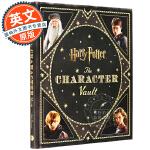 哈利波特电影人物设定集 英文原版 Harry Potter: The Character Vault 哈利・波特:角色